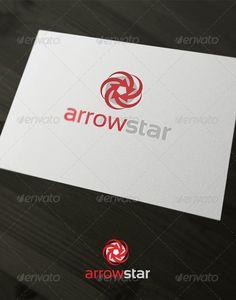 Arrow Star - Logo Design Template Vector #logotype Download it here: http://graphicriver.net/item/arrow-star/1820738?s_rank=487?ref=nexion