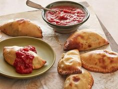Get Easy Calzones Recipe from Food Network