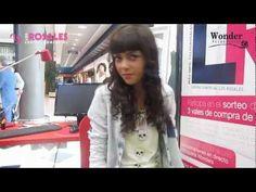 Video de una de las demostraciones que ha realizado la peluquería Wonder en Los Rosales creando un peinado.