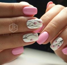 Nail art is a very popular trend these days and every woman you meet seems to have beautiful nails. It used to be that women would just go get a manicure or pedicure to get their nails trimmed and shaped with just a few coats of plain nail polish. Spring Nail Art, Nail Designs Spring, Cute Nail Designs, Spring Nails, Summer Nails, Autumn Nails, Fancy Nails, Diy Nails, Cute Nails