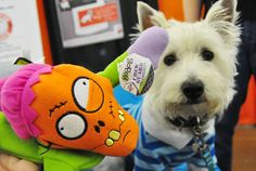 Dogtipper is giving away four Zombiez dog toys to one lucky winner!