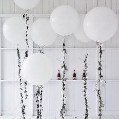 Party Planning : jasmine vine balloons by @zioandsons. #CMPartyShop