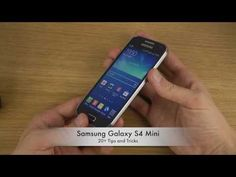 20+ Tips and Tricks For Samsung Galaxy S4 Mini - YouTube