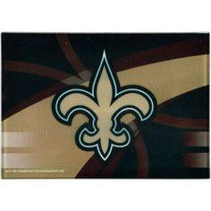 New Orleans Saints 8'' x 11.75'' Carbon Fiber Cutting Board
