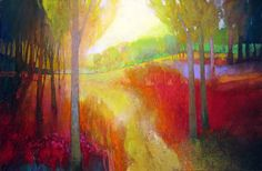 """Contemporary Painting - """"""""Coppice 854"""""""" (Original Art from MARK GOULD FINE ART)"""