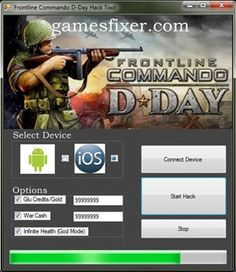 frontline commando d day gold hack android