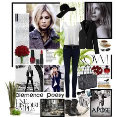 """Style of Clémence Poesy"" by firstclass1 on Polyvore"