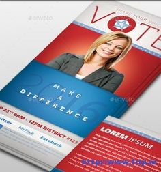 palm card template word - election flyer template microsoft word free political