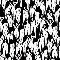 B.O.D.Y P.A.T.T.E.R.N. #Patternpattern #coeuràprendre #patternpatternillustration #blackandwhite #red #beach  #illustration #patternpassion #lovely #drawing #black #white #red #girlsjustwannahavefun #pattern #heart #body #women #girl #marineweil Beach Illustration, Pattern Illustration, Red Beach, Beach Girls, Black White, Illustrations, Heart, Drawings, Women