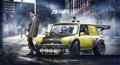 Speedhunters Mini cooper Need For speed ft Bean by yasiddesign on DeviantArt