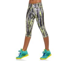 23 Super Fun Workout Pants that Will Make You Excited to Exercise - : Image: Courtesy of Reebok http://www.fitbie.com/slideshow/workout-apparel-23-fashion-forward-exercise-pants