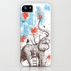 You need this cover for your new phone!    A Happy Place iPhone Case by Norman Duenas - $35.00