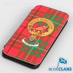 Macaulay Clan Crest iPhone Flip Case. Free worldwide shipping available