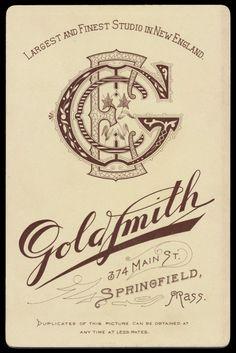 Goldsmith monogram
