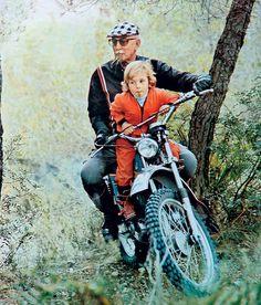 Love for bike. Don Paco Bultó. Bultaco