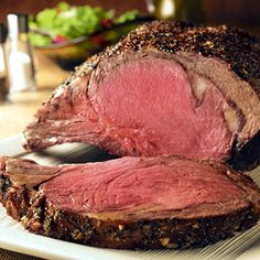 Prime Rib.-I always make a Prime Rib, for Christmas Day dinner! I make Ina's special sauce to go along, with it! It's 1 cup of mayo,3 Tbsp. of course grain mustard, and 3-4 Tbsp. of horseradish. Mix together, and refrig. You'll enjoy!!!! Adjust recipe to your own liking!!!
