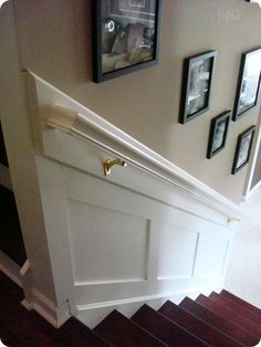"Stairwell makeover - new item on Michael's ""to do"" list :-)"