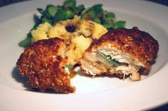 thepassionatecook: Pear & sage-stuffed chicken breast with a hazelnut ...