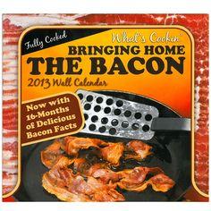 Stupid.com: 2013 Bacon Calendar