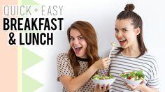 Quick + Simple Breakfast & Lunch // Avocado Toast + Lemon Pepper Chicken...