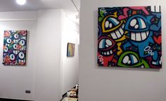 """PEZ. Opening """"From Born with Humour"""", exhibition. Born Art gallery. From 6th to 30th June. Barcelona"""