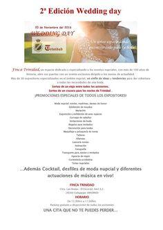 PALOMA RUEDA  os invita al desfile de modelos que vamos a realizar en el Restaurante Trinidad Ctra Las Rozas El Escorial  km 13.200