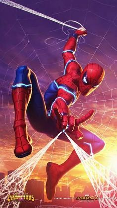 Marvel contest of champions Spider Man Marvel Comics, Heros Comics, Comics Anime, Marvel Heroes, Ms Marvel, Captain Marvel, Marvel Avengers, Amazing Spiderman, Spiderman Art