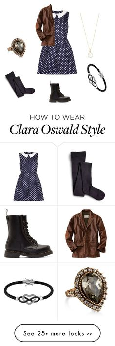 """Clara Oswald"" by crazygirl1217 on Polyvore"