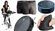 Todays Best Deals: Anker Robotic Vacuum FitDesk 3.0 Activewear Sale and More