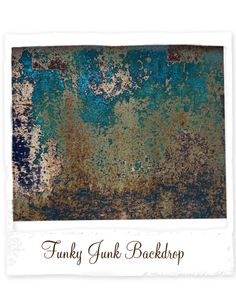 Design Revolution - Funky Junk Backdrop Great backdrop for boys and seniors