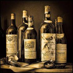 wine cellar treasures.