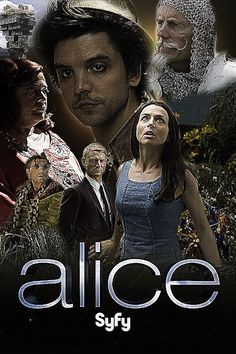 Alice, (2009) Syfy Miniseries movie: [The next three posts, if you never liked or loved alice in wonderland, the wizard of oz, and peter pan - like myself, these are for you. Awesome. As to Stevenson's Treasue Island, aces always and this is a gem.]