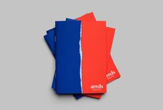 Brand Identity and brochure for Barcelona based shoe brand Arrels by graphic design studio Hey