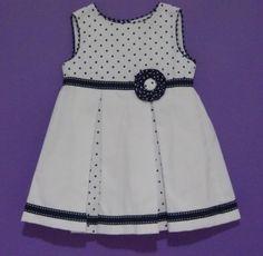 Vestido para niña Ref.6-3701 - cisne blanco moda infantil