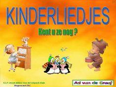 kinderliedjes-deel 1. Diverse Kinderliedjes van vroeger !! Met Tekst erbij