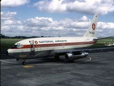 NAC B737-200, Hamilton Airport, image Wings Over New Zealand