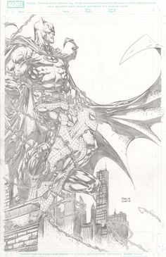 Spider-Man / Batman by David Finch