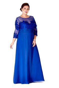 Edwardian Style Dresses Vintage Style Mother of the Bride Dress by Sydneys Closet $299.00 AT vintagedancer.com