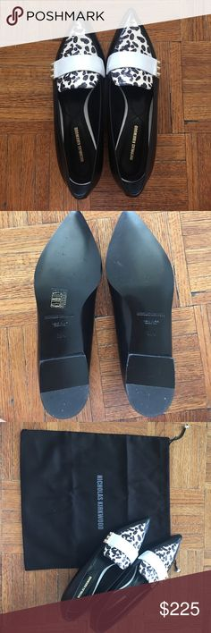 Nicholas Kirkwood penny loafer flats never worn Never worn! Beautiful Nicholas Kirkwood penny loafer flats.  Size 38.5 or 8.5. Runs a bit small Nicholas Kirkwood Shoes Flats & Loafers