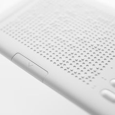 Details, Braille pad for blind people by cloudandcoxDot