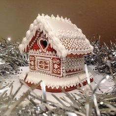 gingerbread house Gingerbread Village, Christmas Gingerbread House, Candy House, Cookie House, Royal Icing, Bakery, Christmas Decorations, Ginger Bread, Spice