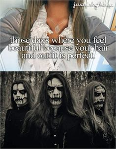 Like I have never seen such gorgeous hair as I have on Carach Angren