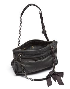 Really want a Lanvin Amalia bag in quilted lambskin. This medium size grey one is lovely.