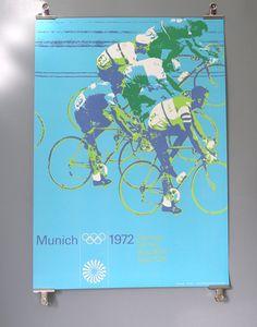 Otl Aicher - 1972 Olympics Poster