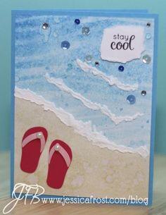 Puffy Paint Summer Scene Ideas