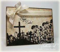 Neutral Easter CC412 by sweetnsassystamps - Cards and Paper Crafts at Splitcoaststampers