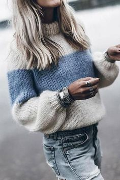 Mohair Sweater, Pullover Sweaters, Knitting Sweaters, Fluffy Sweater, Cardigans, Women's Sweaters, Loose Sweater, Striped Sweaters, Oversized Sweaters