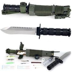 Whetstone Cutlery 'Anchored Eagle' Survival Knife and Kit with Sheath Survival Knife, Survival Gear, Survival Skills, Survival Hacks, Survival Stuff, Survival Weapons, Survival Equipment, Survival Fishing, Apocalypse Survival