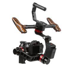 Pro Video Stabilizing Handle Grip for Ricoh CX2 Vertical Shoe Mount Stabilizer Handle