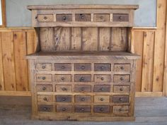 More reclaimed wood
